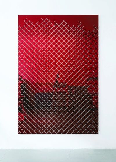 Paul Hosking, 'Bound (Red)', 2018