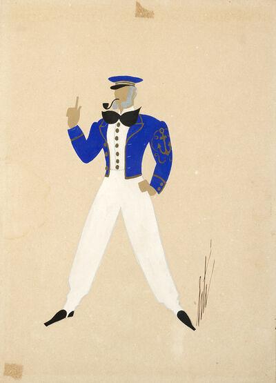 Erté, 'Le capitaine Bordenave'