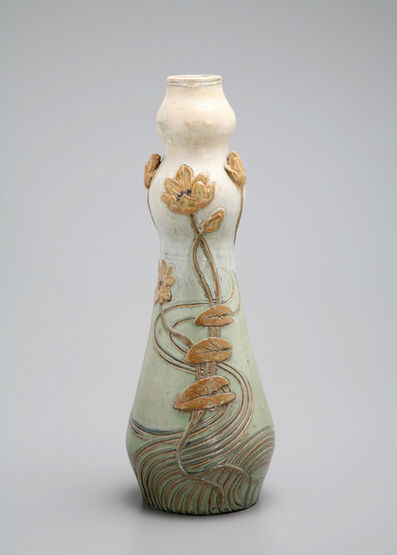 Paul Milet, 'Floral Vase', ca. 1900