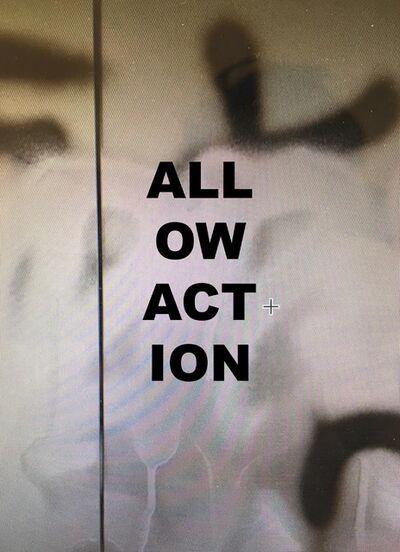 Stefan Brüggemann, 'Allow Action', 2018