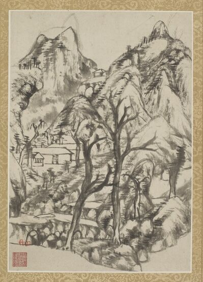 Bada Shanren (Zhu Da) 八大山人 (朱耷), 'Combined Album of Painting and Calligraphy', Qing dynasty-ca. 1693 and 1696