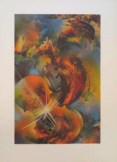 Leonardo Nierman, 'Mozart from the Sound of Color portfolio', 1976