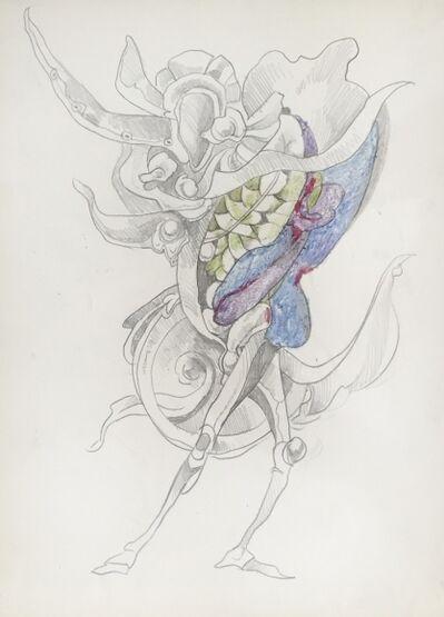 Kurt Seligmann, 'Untitled (Surrealist Standing Figure)', 1952