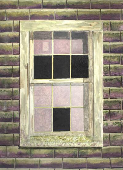 Lois Dodd, 'Shed Window', 2014