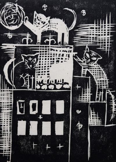 Otto Dix, 'Katzen', 1920