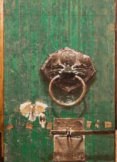 Wittaya Pised, 'Green Door ', 2016