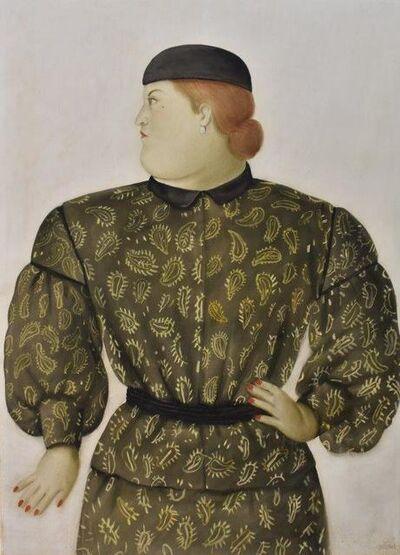 Fernando Botero, 'Mujer Vestida por Hanai Morí ', 1981