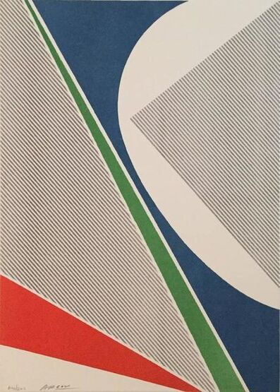 Michael Argov, 'Abstract - Untitled', 20th Century