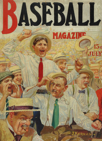 Joseph Francis Kernan, 'Baseball Magazine Cover', 1917