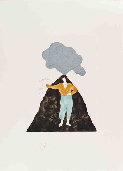 Ernesto Tatafiore, 'Vendicante', 1985