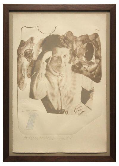 Robert Rauschenberg, 'Tanya', 1974