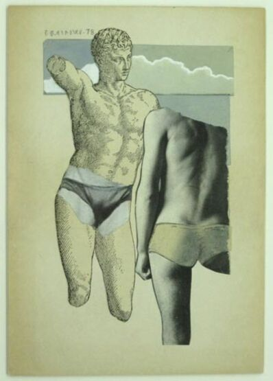 Joe Brainard, 'Untitled (Greek Bathers)', 1978