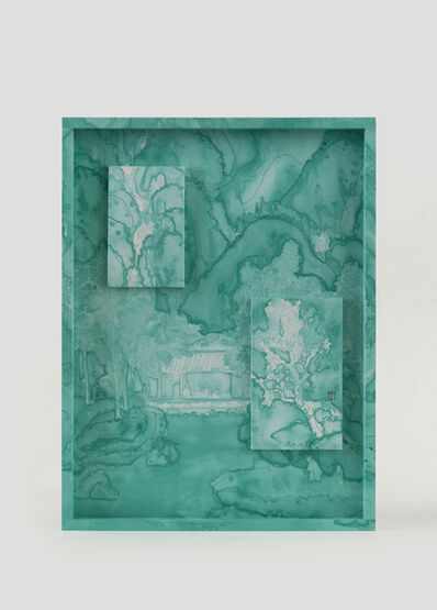 Li Ting Ting, 'Emerald Green Accumulated On Spring Mountains', 2019