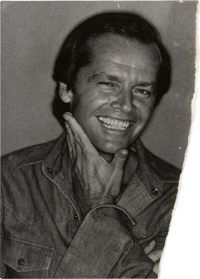 David Bailey, 'Uncharted – Jack Nicholson', 1976