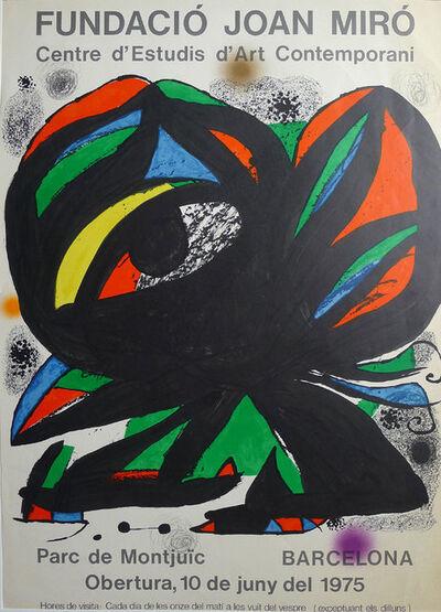 Joan Miró, 'Fundació Joan Miró', 1975