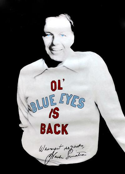 Steve Kaufman, 'SINATRA - OL BLUE EYES', 1995-2001