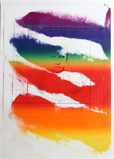 Paul Jenkins, 'Sri Chinmoy, 1973 Lithograph by Paul Jenkins', 1973