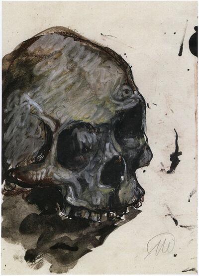 "Markus Lüpertz, 'Untitled (""Skull"")', 1998"