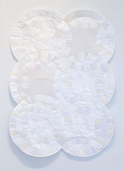 Stephen Sollins, 'Untitled (First Comes Love...Crib Quilt Verison)', 2008