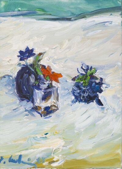 Roland Ladwig, 'Blumen mit Vase (Flowers with Vase)', 2003