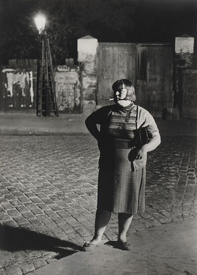 Brassaï, 'Fille de joie, quartier Italie (Streetwalker, Quartier Italie)', 1932