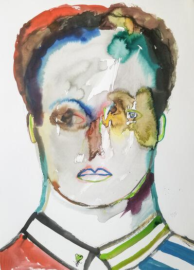 Wole Lagunju, 'Scholar', ca. 2019
