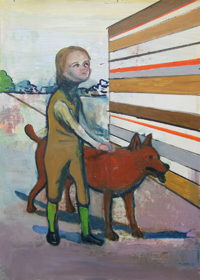 Stephanus Heidacker, 'Boy and Dog', 2012