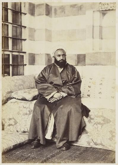 Francis Bedford, 'Portrait of 'Abd al-Qadir, Damascus', 30 April 1862