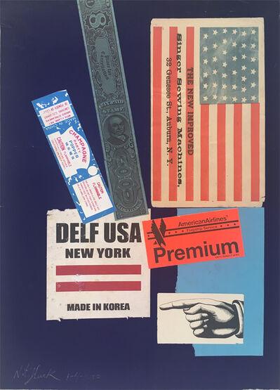 Nathan Gluck, 'USA Premiuim (38 States = 1876)', 2000