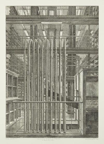 Erik Desmazières, 'Le Bureau des ordres, from Le Magasin central des imprimés', 2013