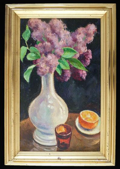 GEORGES ANATOLOVITCH DE POGEDAIEFF, 'Bouquet of Lilacs and Orange / Bouquet de lilas à l'orange', 1964