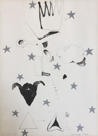 Jim Dine, 'Silver Star', 1966