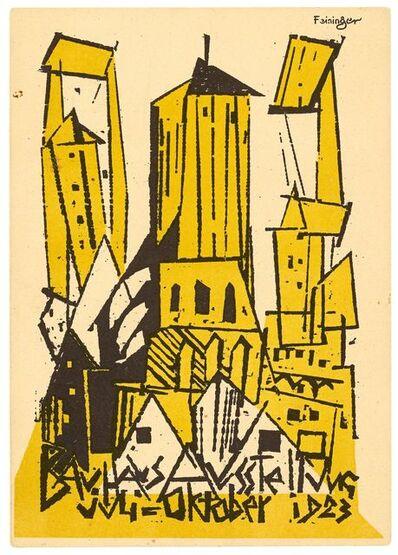 Lyonel Feininger, 'Kirche', 1923