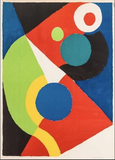 Sonia Delaunay, 'Circus', 1970
