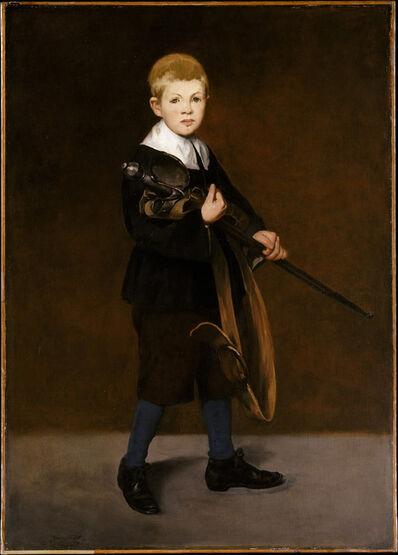 Édouard Manet, 'Boy with a Sword', 1861