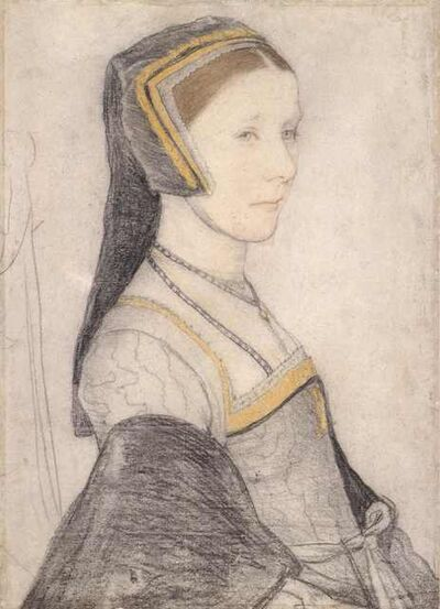 Hans Holbein the Younger, 'Anne Cresacre', ca. 1527