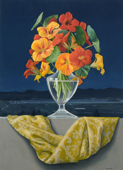 James Aponovich, 'Nasturtiums Over Trasimeno', 2014