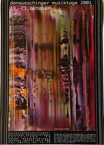 Gerhard Richter, 'Donaueschinger Musiktage (Hand Signed)', 2001