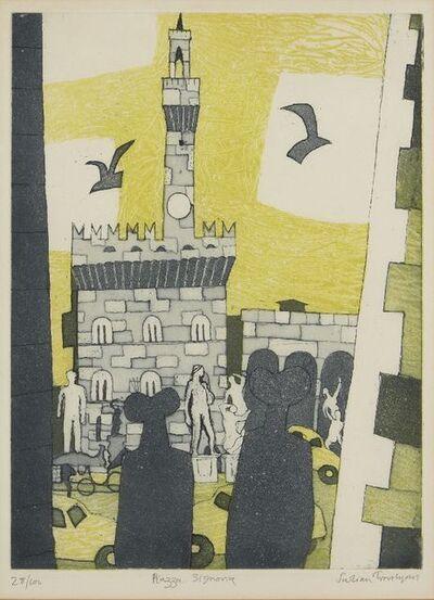 Julian Trevelyan, 'Piazza Signoria [Turner 180]', 1965-66