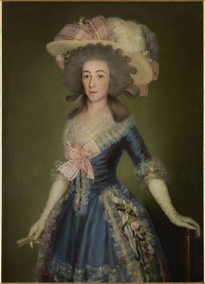 Francisco de Goya, 'The Countess-Duchess of Benavente', 1785