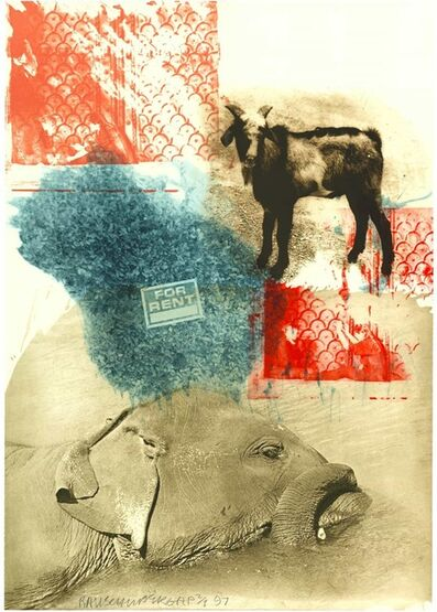 Robert Rauschenberg, 'Leasee (Ground Rules)', 1997