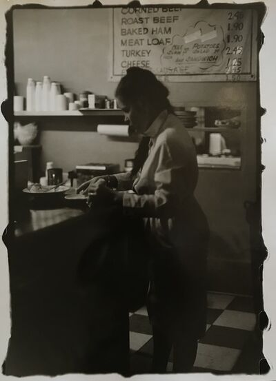 Ming Smith, 'Waitress 1 at the Counter, Pittsburgh, PA, (August  Wilson Series) ', 1991