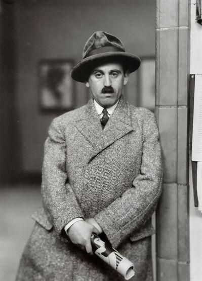 August Sander, 'Art Dealer (Citizens of the 20th Century)', 1927