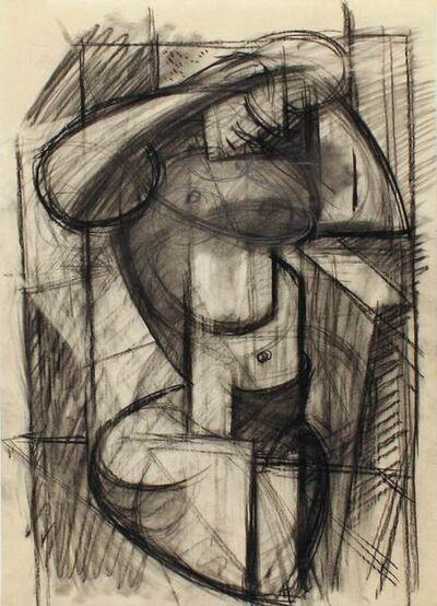 R. Leroy Turner, 'Figure Study (Seated Nude)', ca. 1932