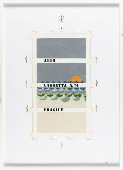 Guglielmo Achille Cavellini, 'Untitled', 1969