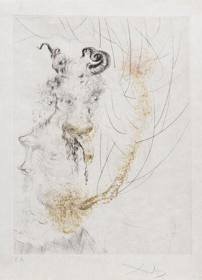 Salvador Dalí, 'Tête de veau (Field 69-1G; M&L 306g)', 1968/1969