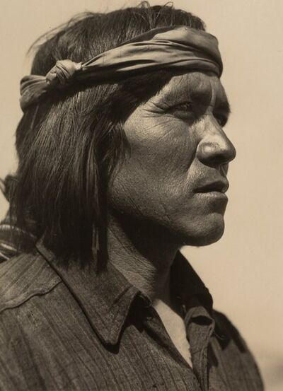 Ansel Adams, 'Juan of Cochiti, New Mexico', 1929
