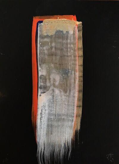 Peter Alexander, 'Black Stroke #64', 2017