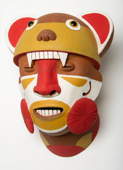 John Donovan, 'Orange Bear Warrior', 2014