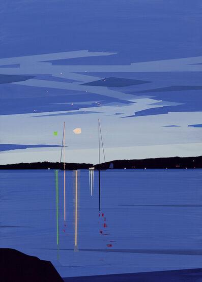 Greta Van Campen, 'Camden Fireworks from Shermans Point '